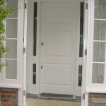 White Finished Softwood Door