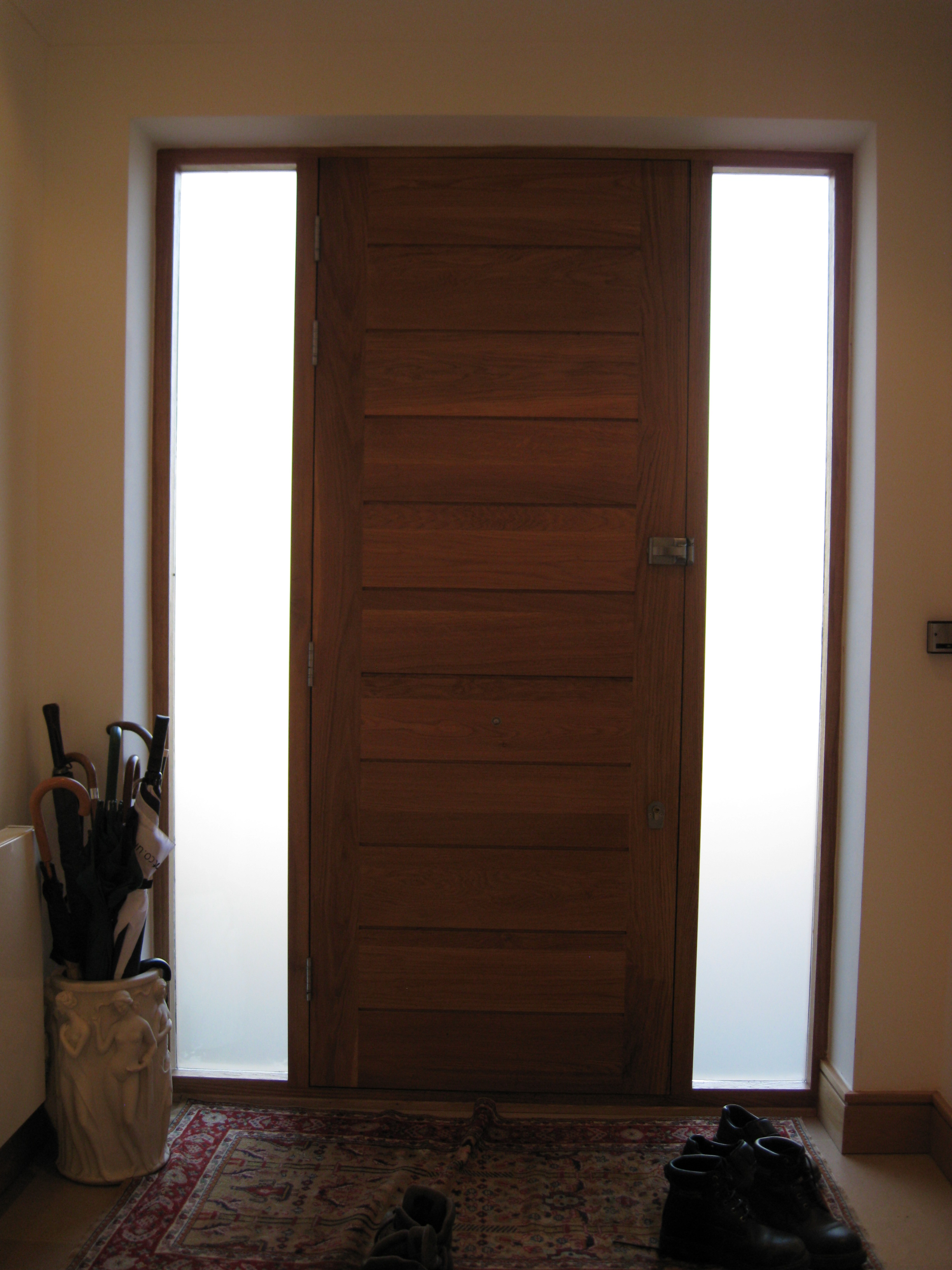 Oak Stained Panel Door
